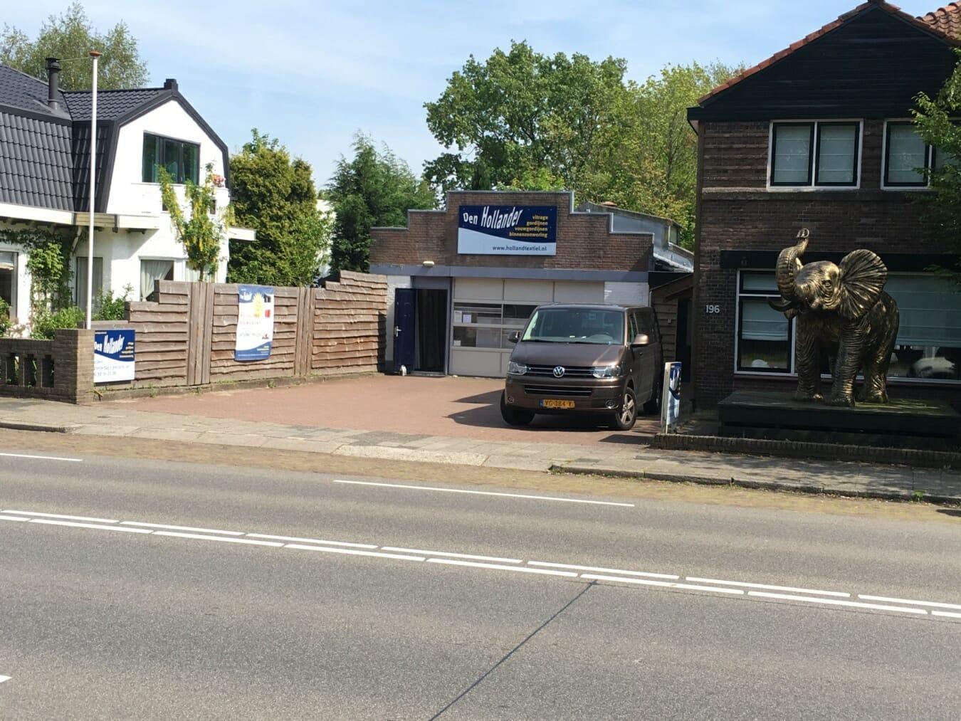 Den Hollander Gordijnen - winkelpand