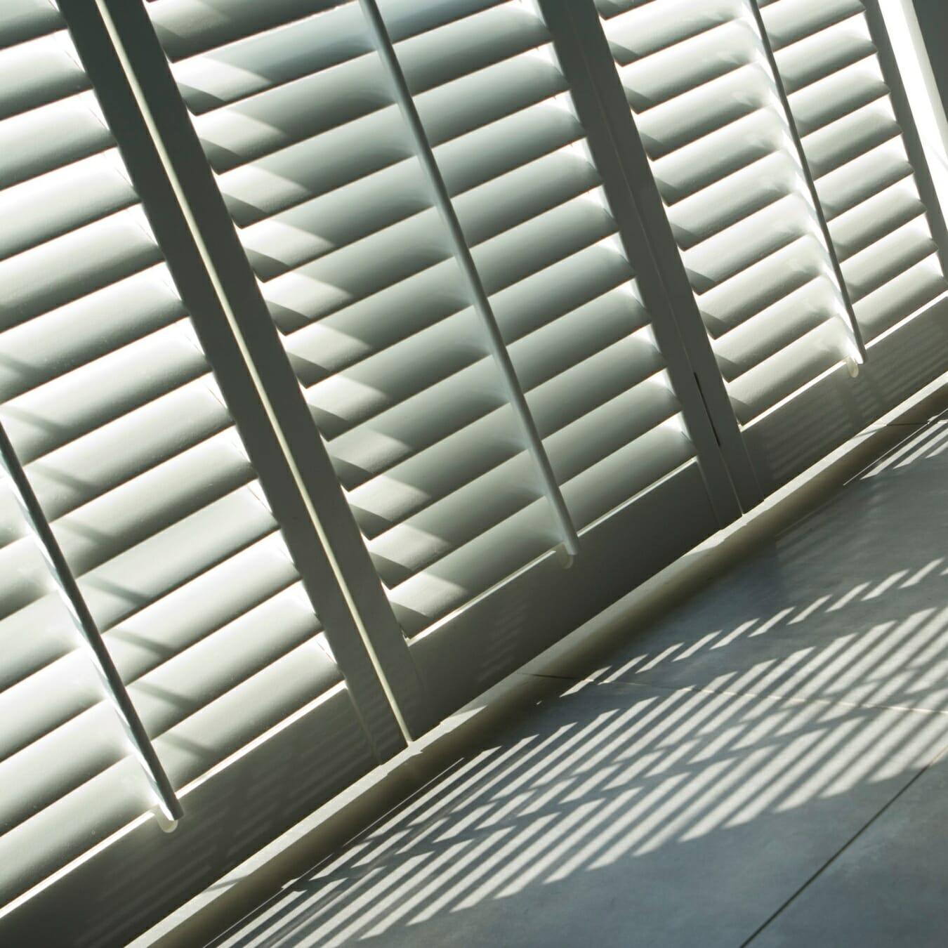 Zonnelux shutters detail