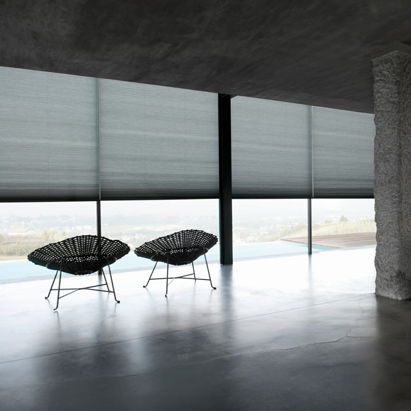 Duette® gordijnen interieur