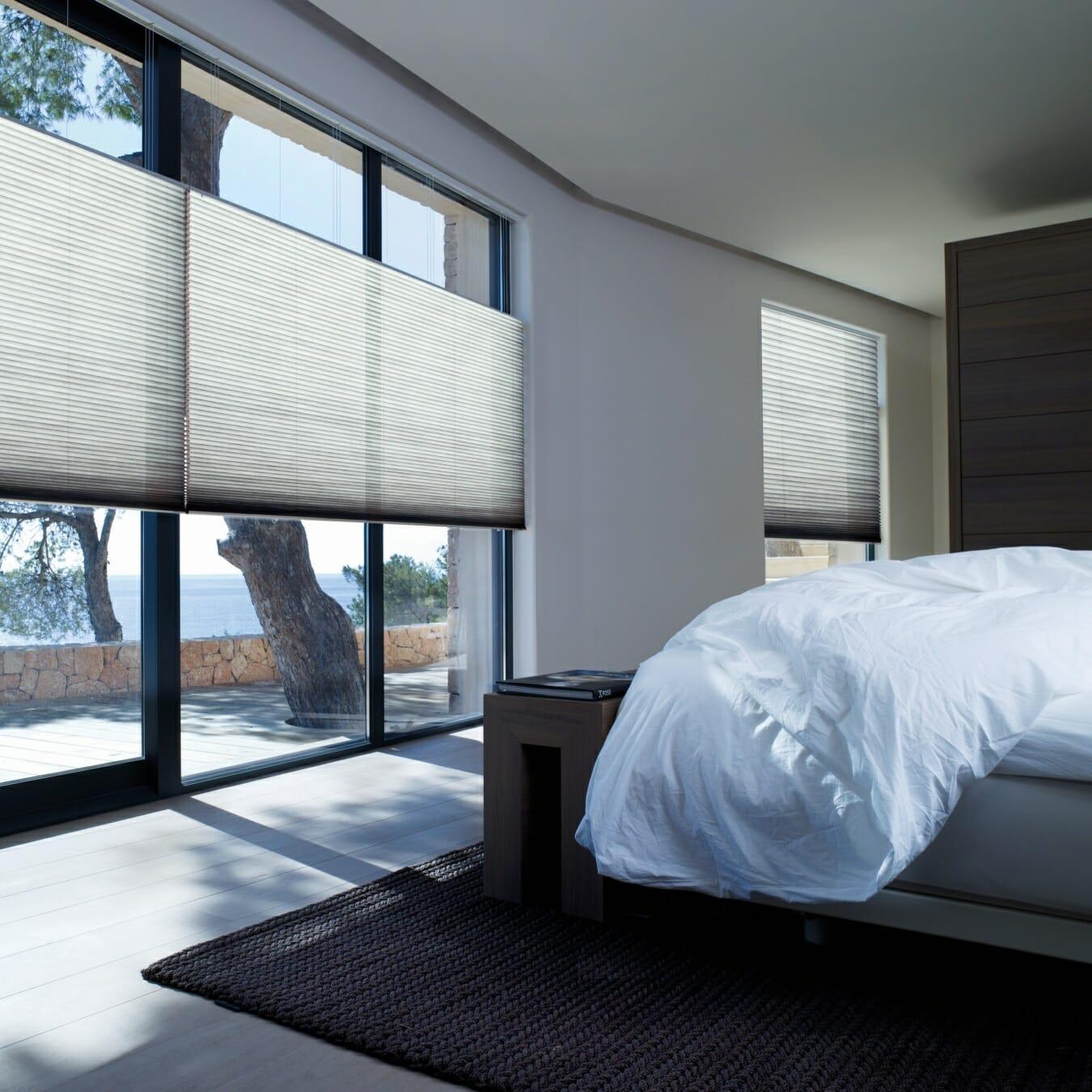 Duette® gordijnen in de slaapkamer