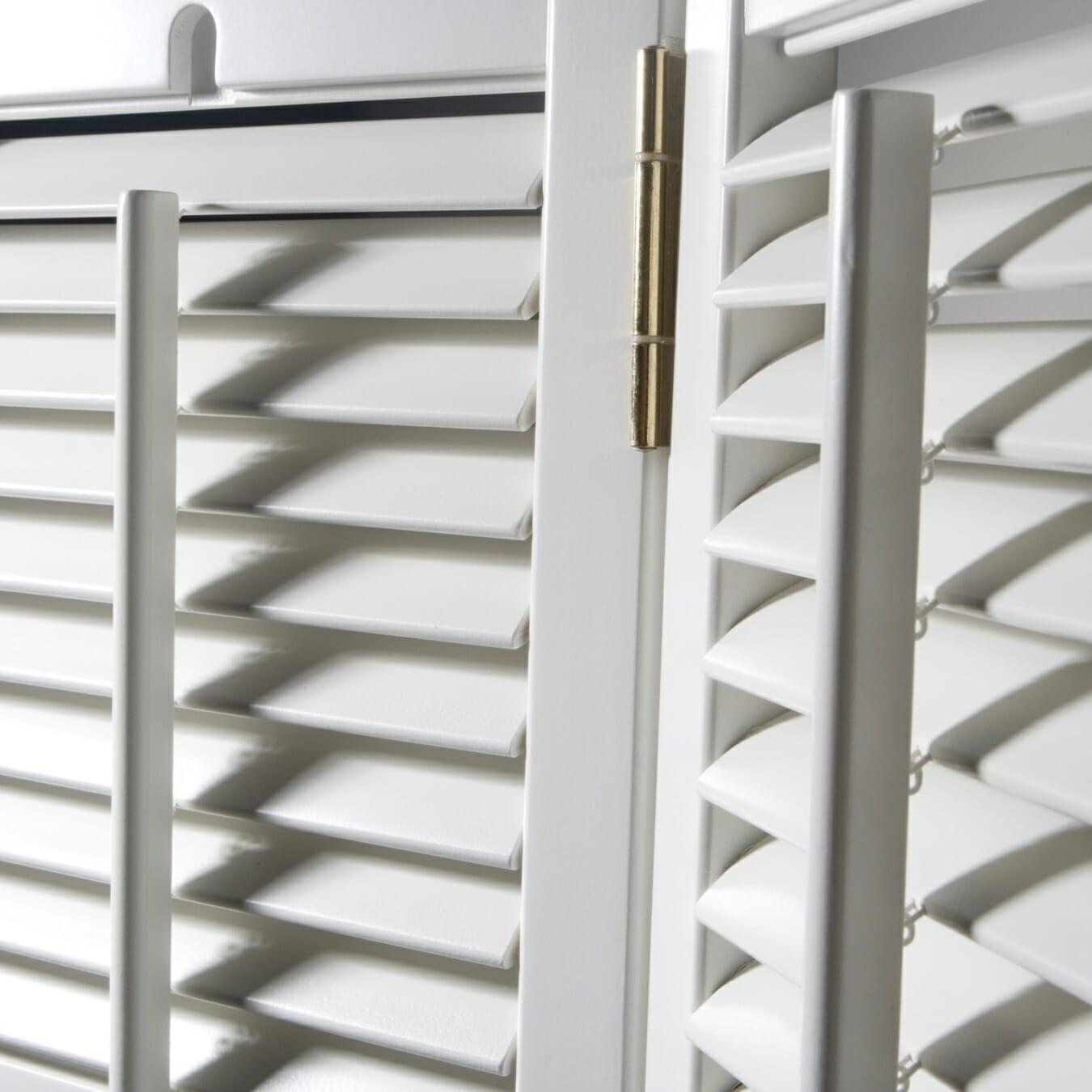 Zonnelux shutters detail scharnier